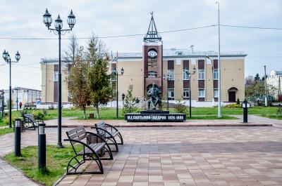 Талдом, памятник М.Е. Салтыкову-Щедрину