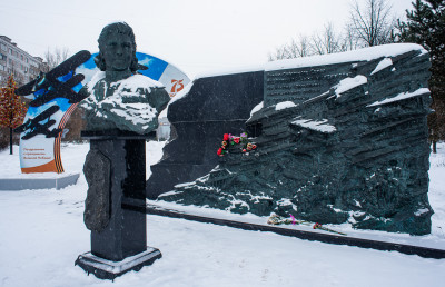 Мытищи, Памятник Распоповой