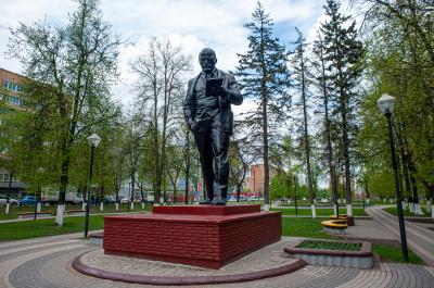 Железнодорожный, памятник В.И.Ленину