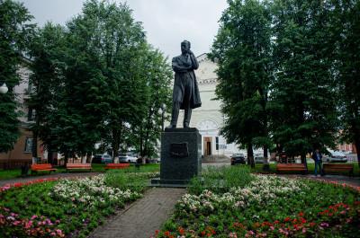 Клин, Памятник Чайковскому