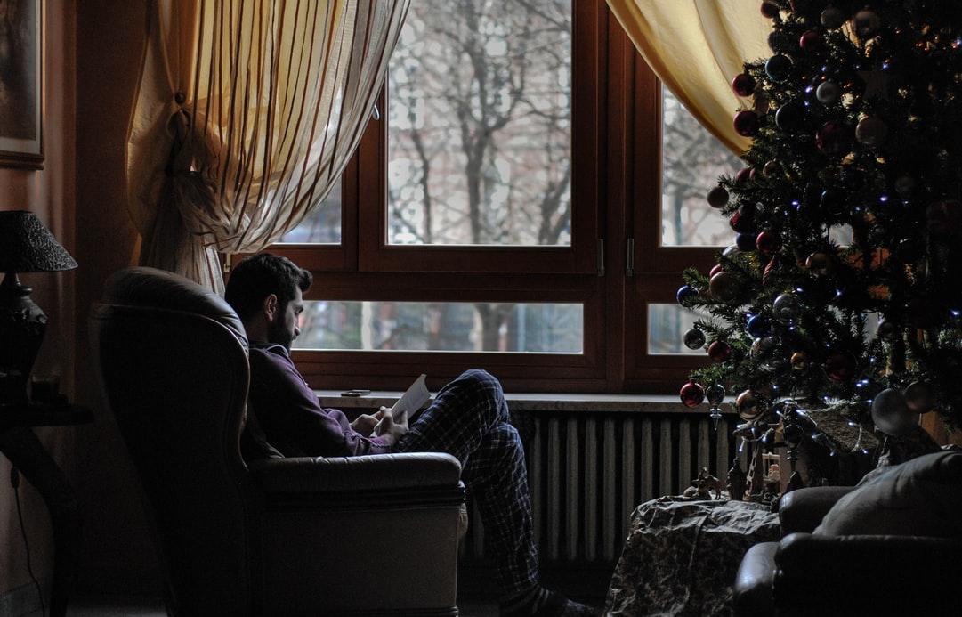 Рождество с загородном доме