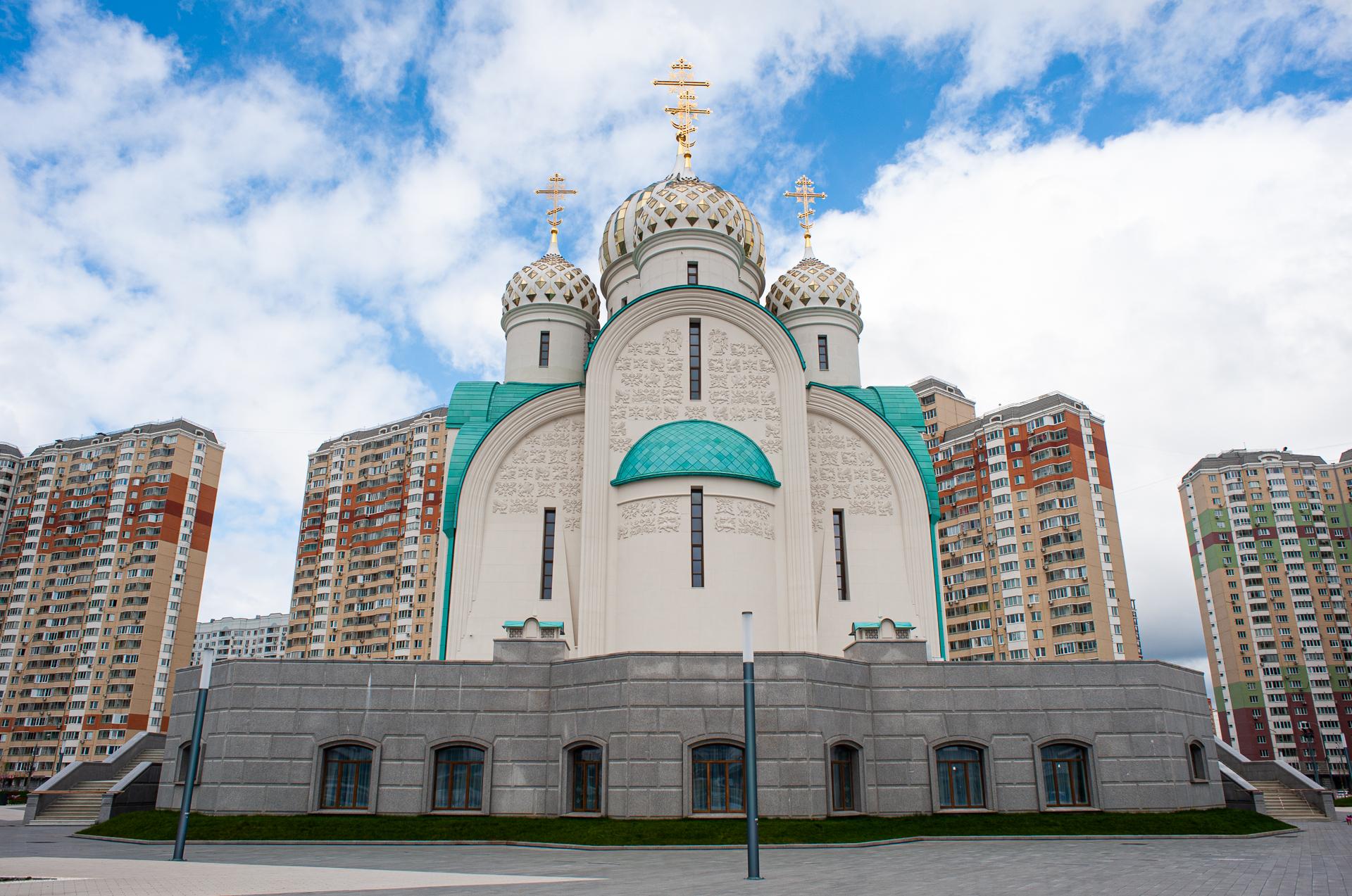 Красногорск, Никольский храм