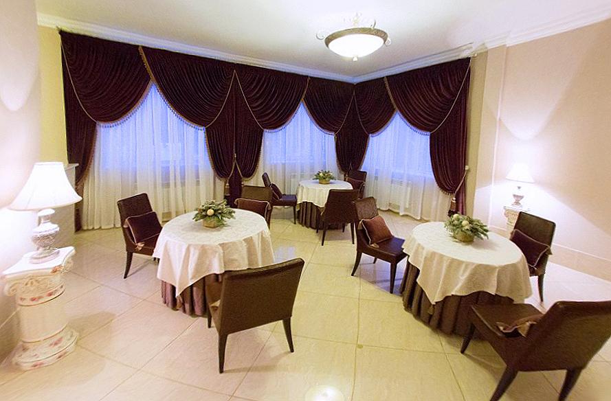 Отель «Эдем». Ресторан. «Лаундж-бар»