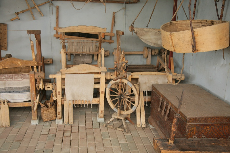 Коломенский музей «Кузнечная слобода». Уличная экспозиция