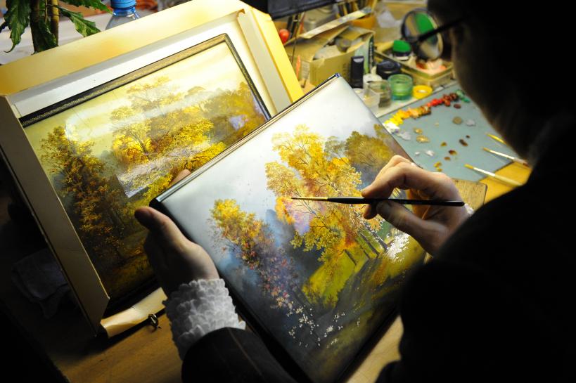 Федоскинская фабрика миниатюрной живописи