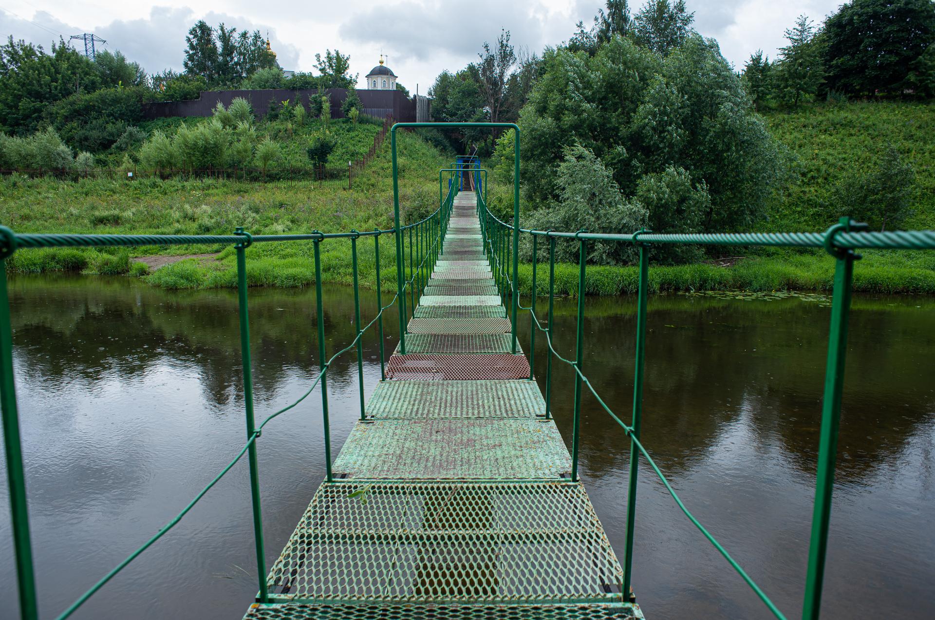 Мост в Лемешево