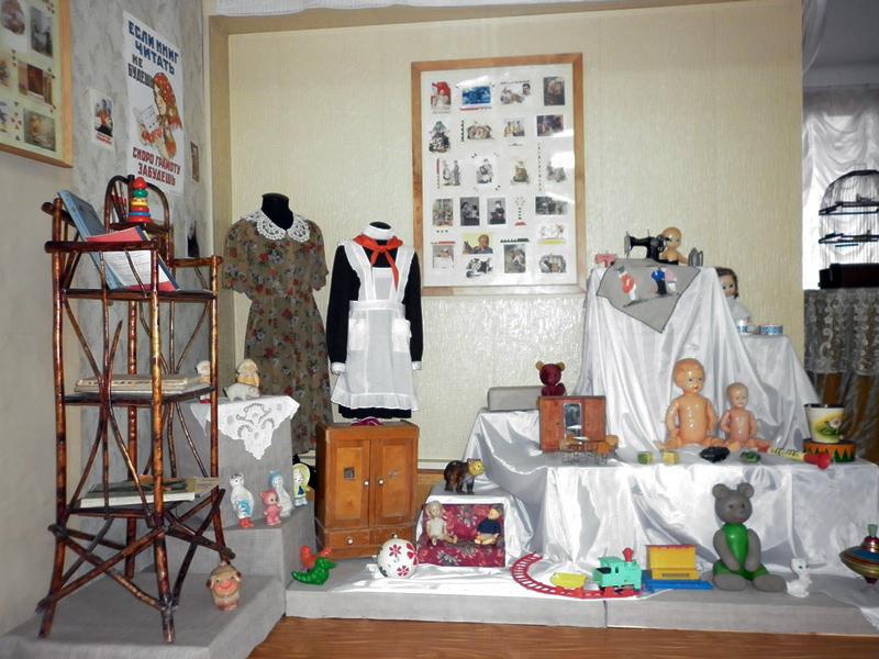 Экспозиция ''Советский период'' в Лыткаринском историко-краеведческом музее