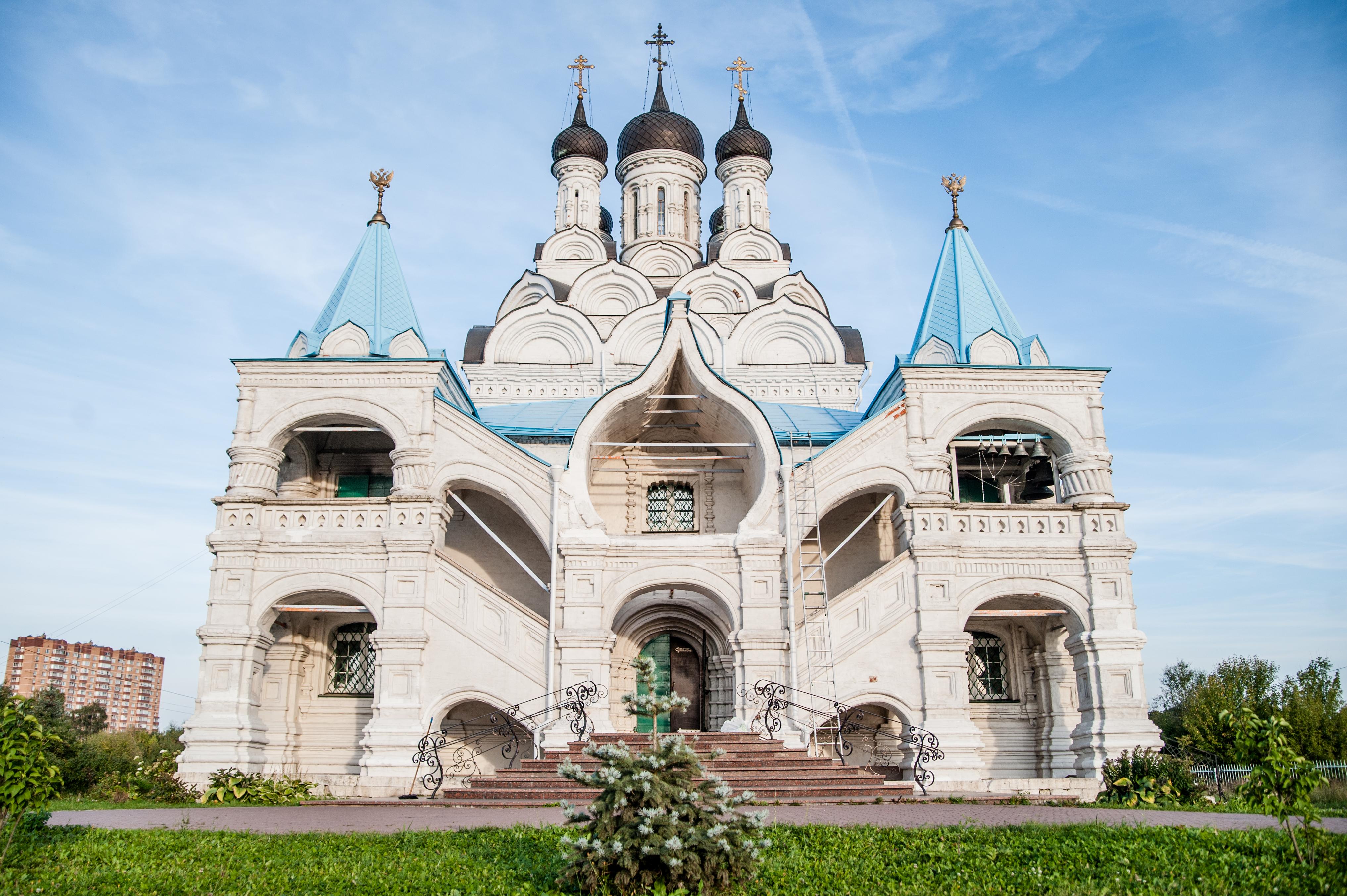 Ярославское направление, Мытищи, Храм Благовещания Пресвятой Богородицы в Тайнинском