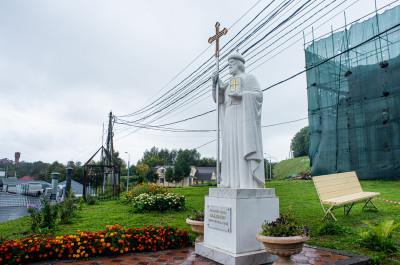 Волоколамск, памятник князю Владимиру