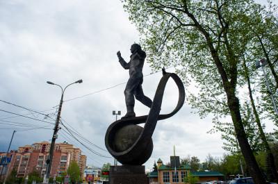 Люберцы, Памятник Юрию Гагарину
