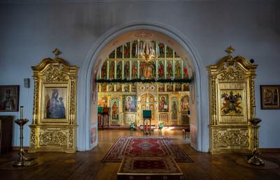 Звенигород, Саввино-Сторожевский монастырь, Преображенская церковь