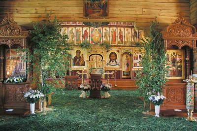 Подворье Зачатьевского женского монастыря в Барвихе, Покровская церковь