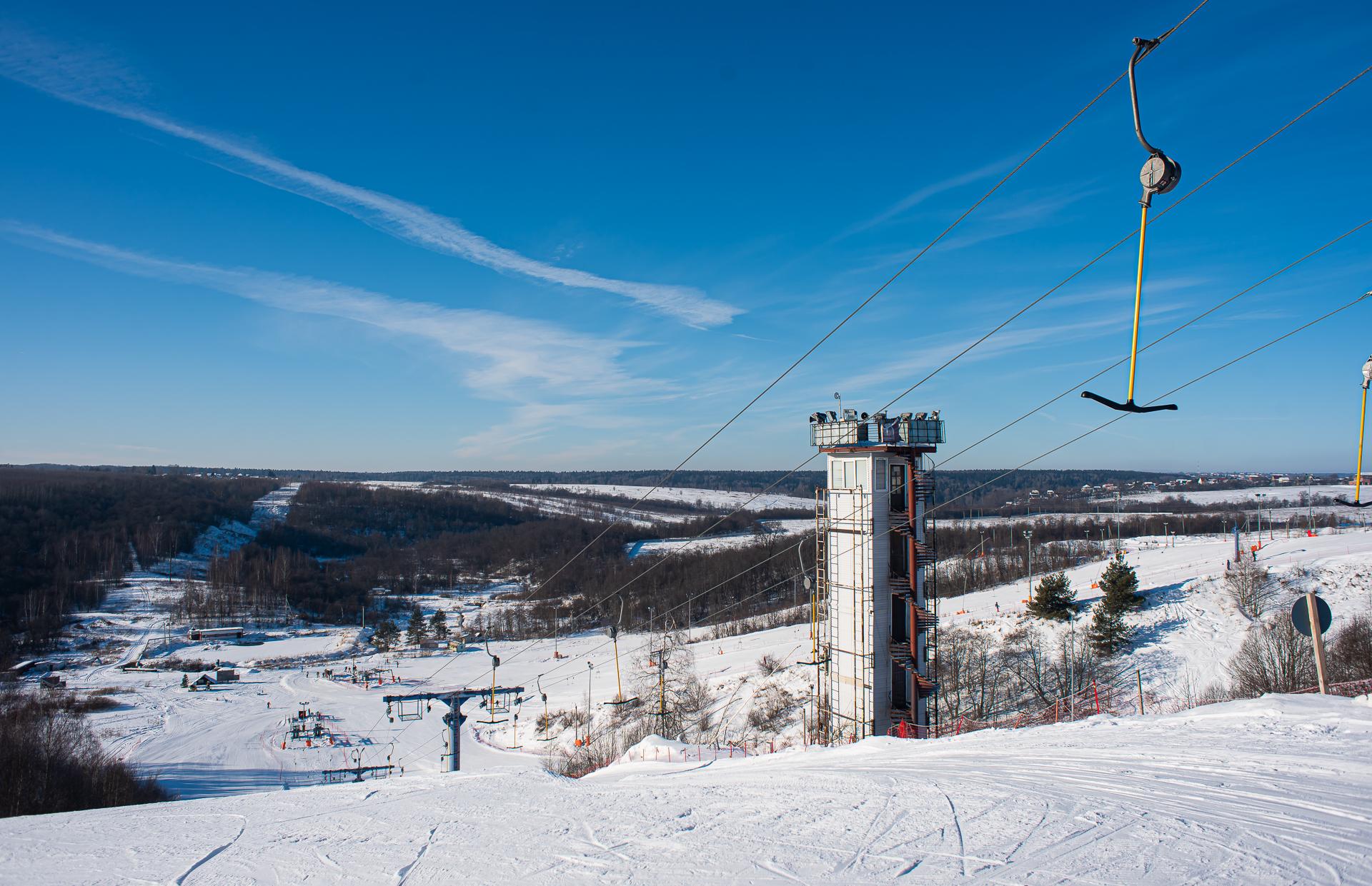 Спортивный парк «Волен», горнолыжный курорт