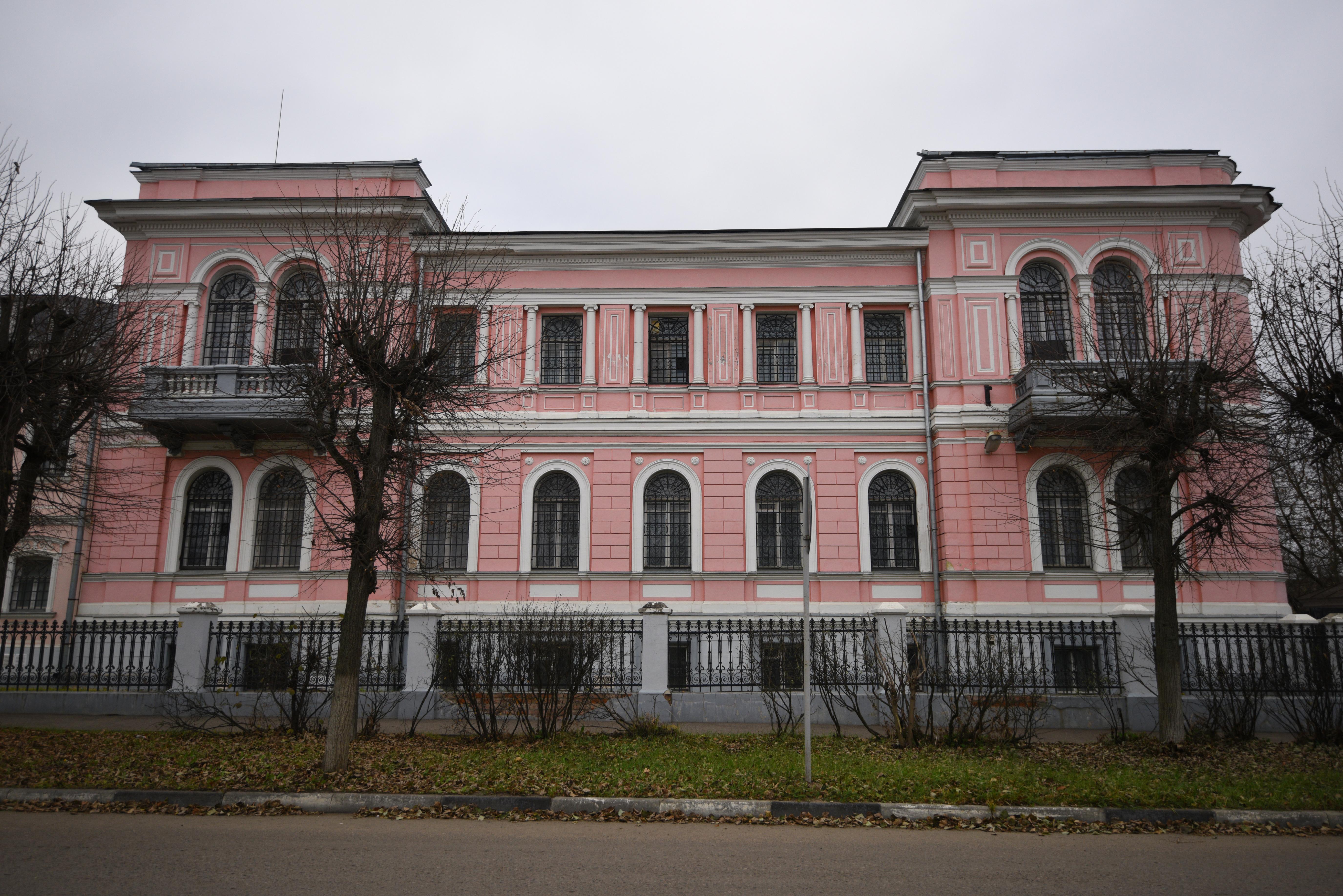 Здание Серпуховского историко-художественного музея.