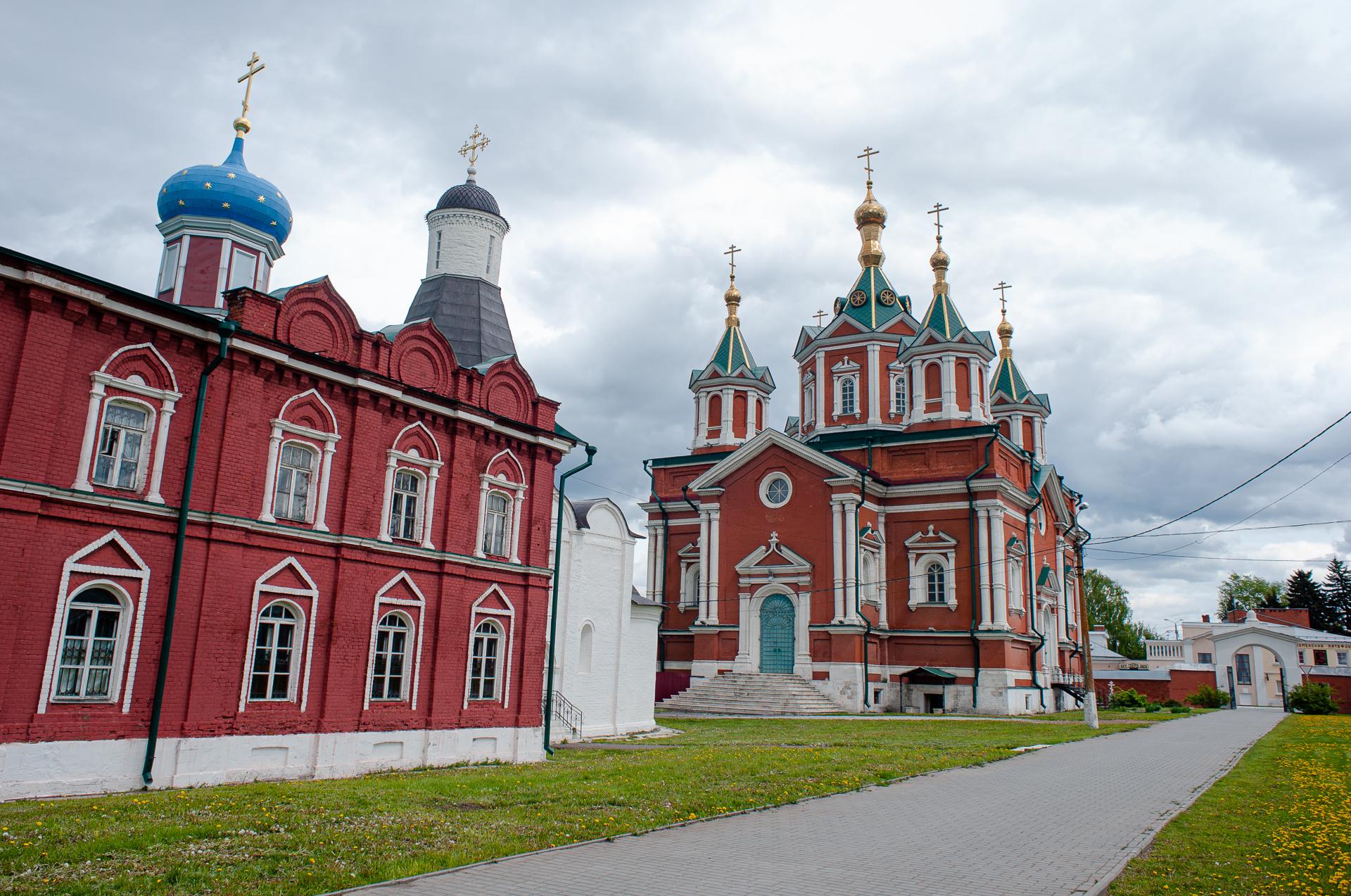 Коломна, Коломенский Кремль, Успенский Брусенский монастырь
