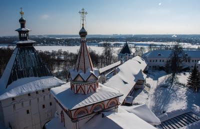 Звенигород, Саввино-Сторожевский монастырь, звонница