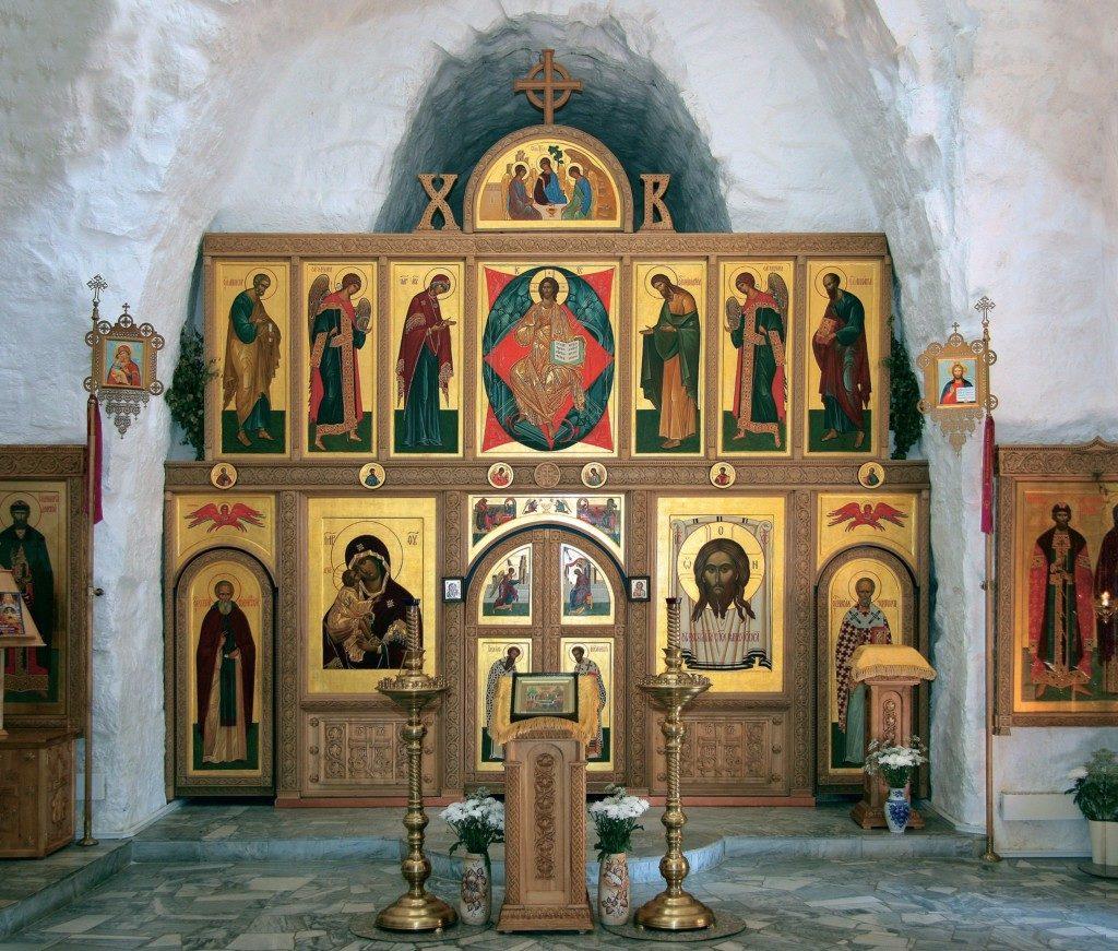 Никольская церковь села Каменское. Иконостас