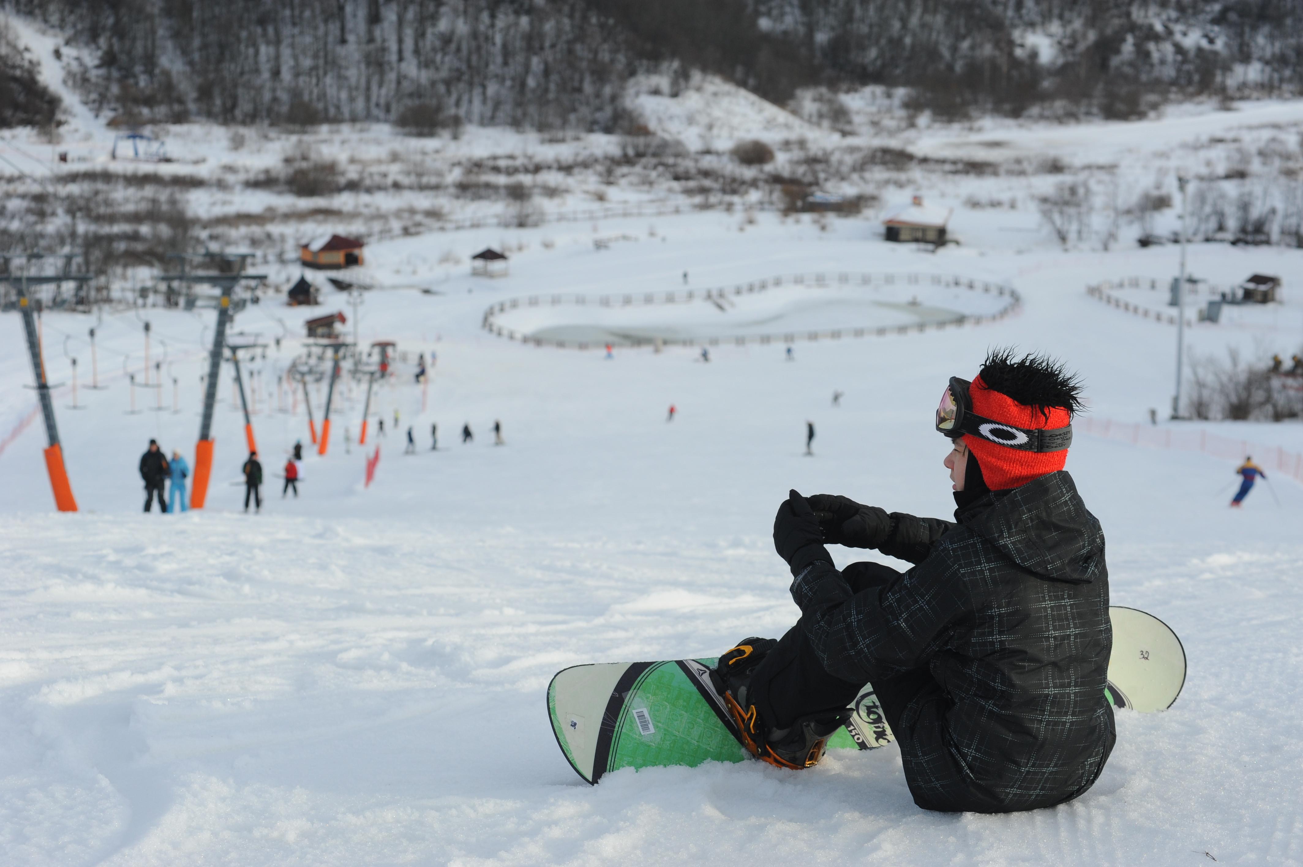 Спортивный парк «Яхрома» в Дмитровском районе