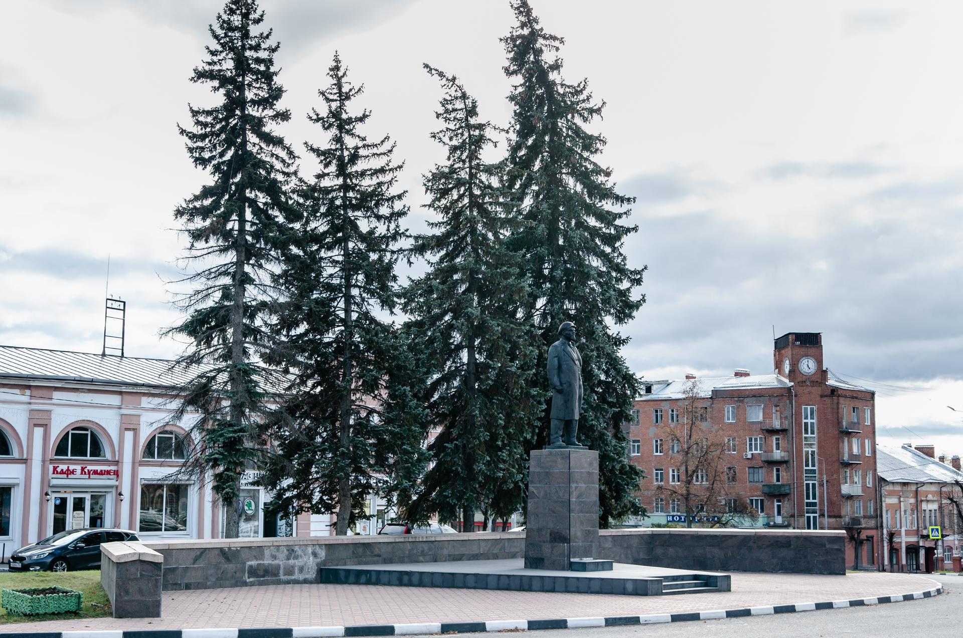 Памятник В.И.Ленина в Серпухове