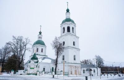 Зарайск, Церковь троицы Живоначальной