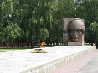 Музей боевой славы в Коломне. Мемориальный парк
