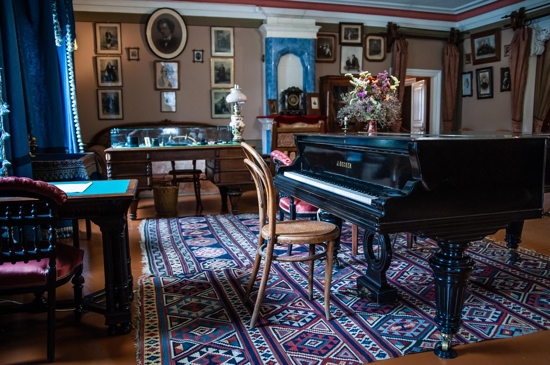 Клин, Дом-музей П.И.Чайковского