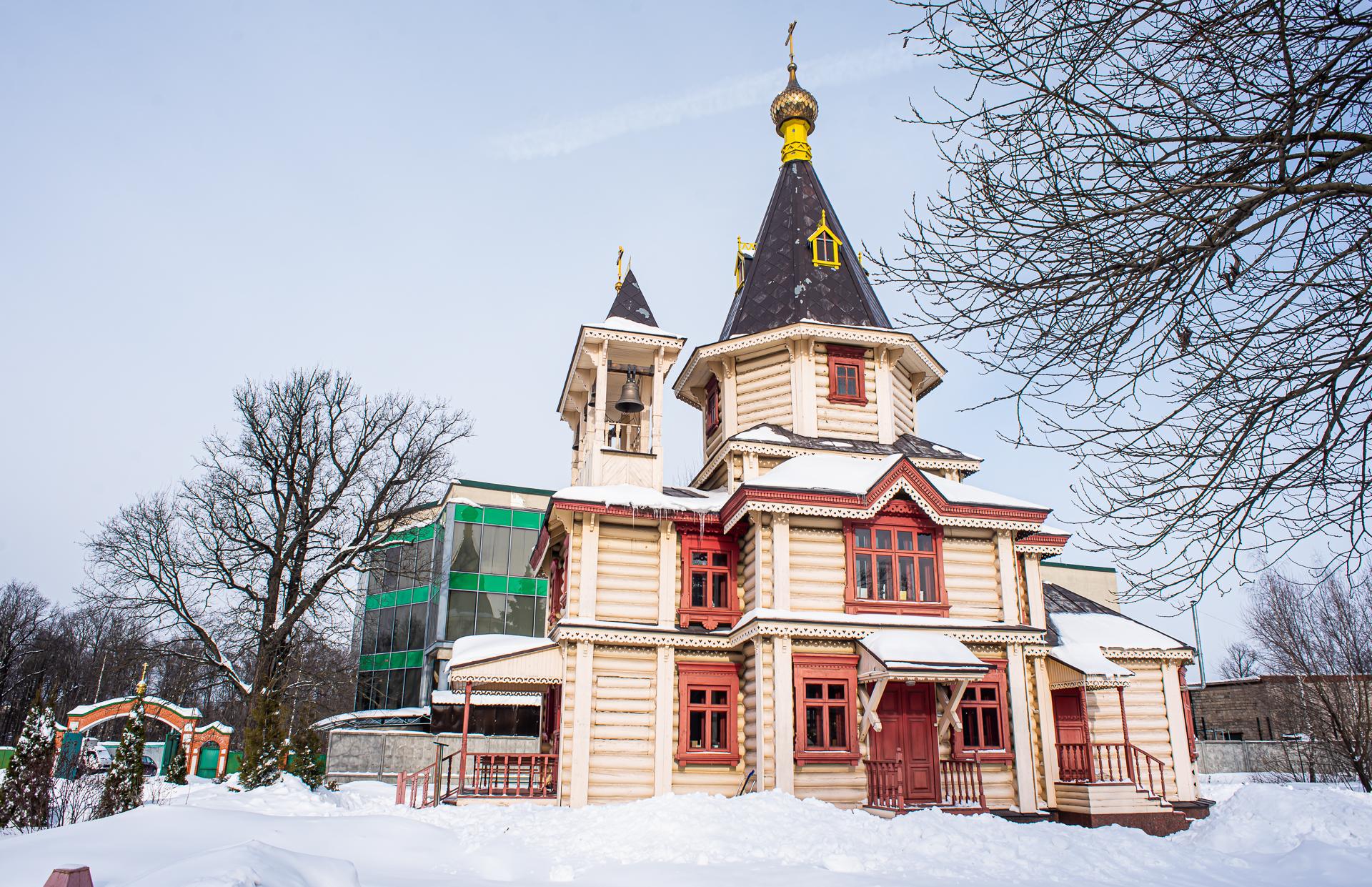 Долгопрудный, Церковь Сергия Радонежского