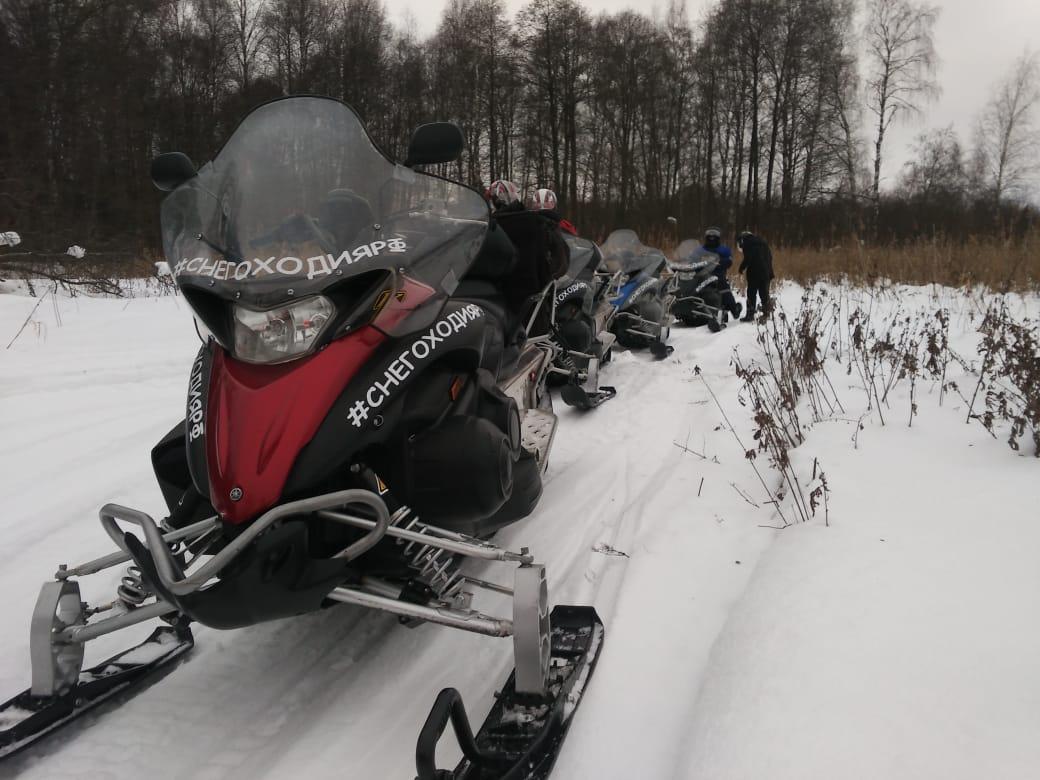 «Снегоходия» в Солнечногорске