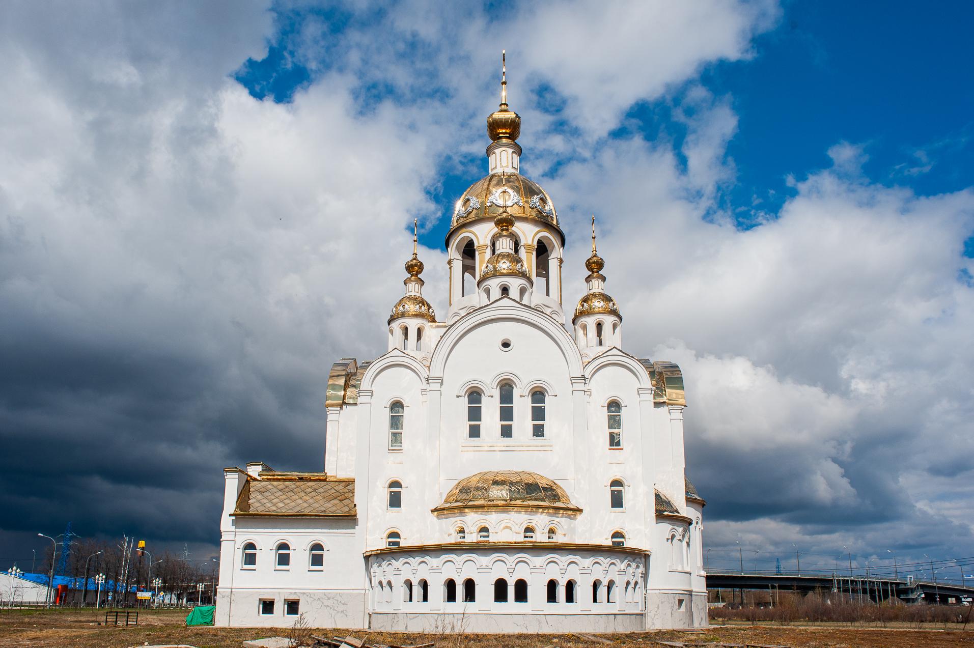 Ступино, Церковь Всех Святых в земле Российской Просиявших