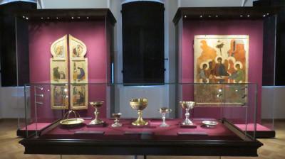 Выставка «Реликвии и сокровища Троице-Сергиева монастыря XI-XVII веков»