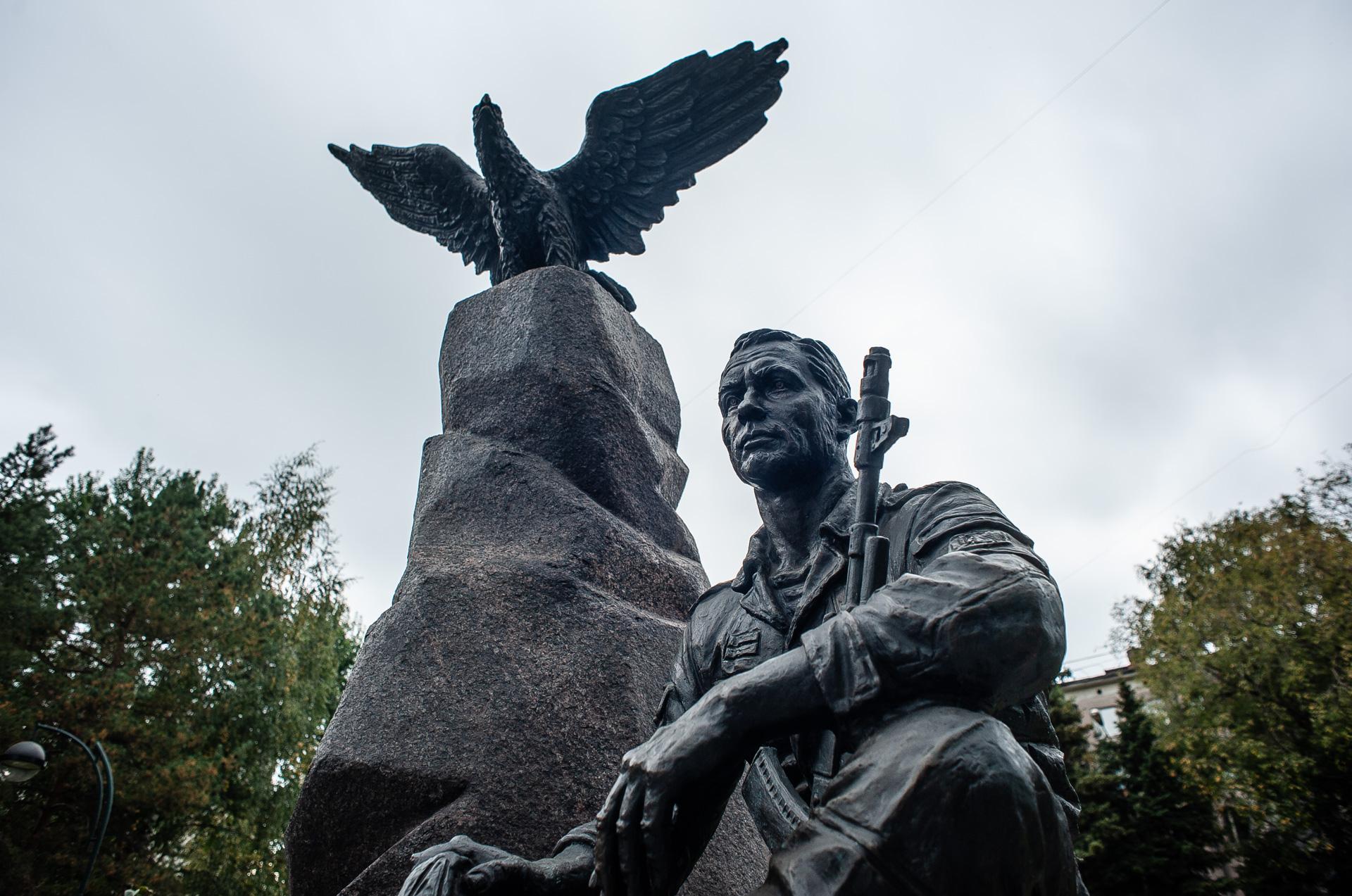 Дзержинский. Сквер ветеранов