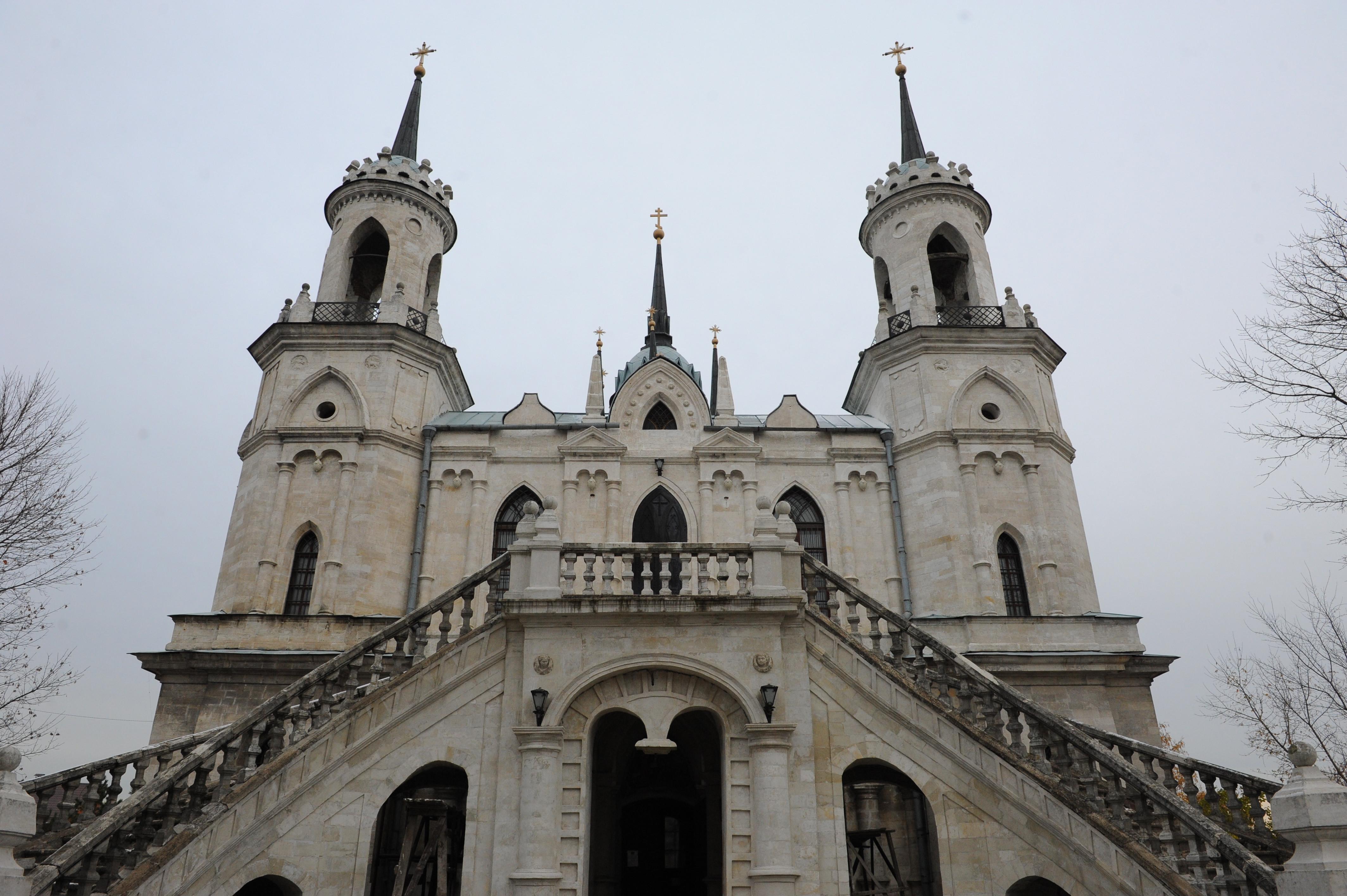 Церковь Владимирской иконы Божьей Матери в Быково