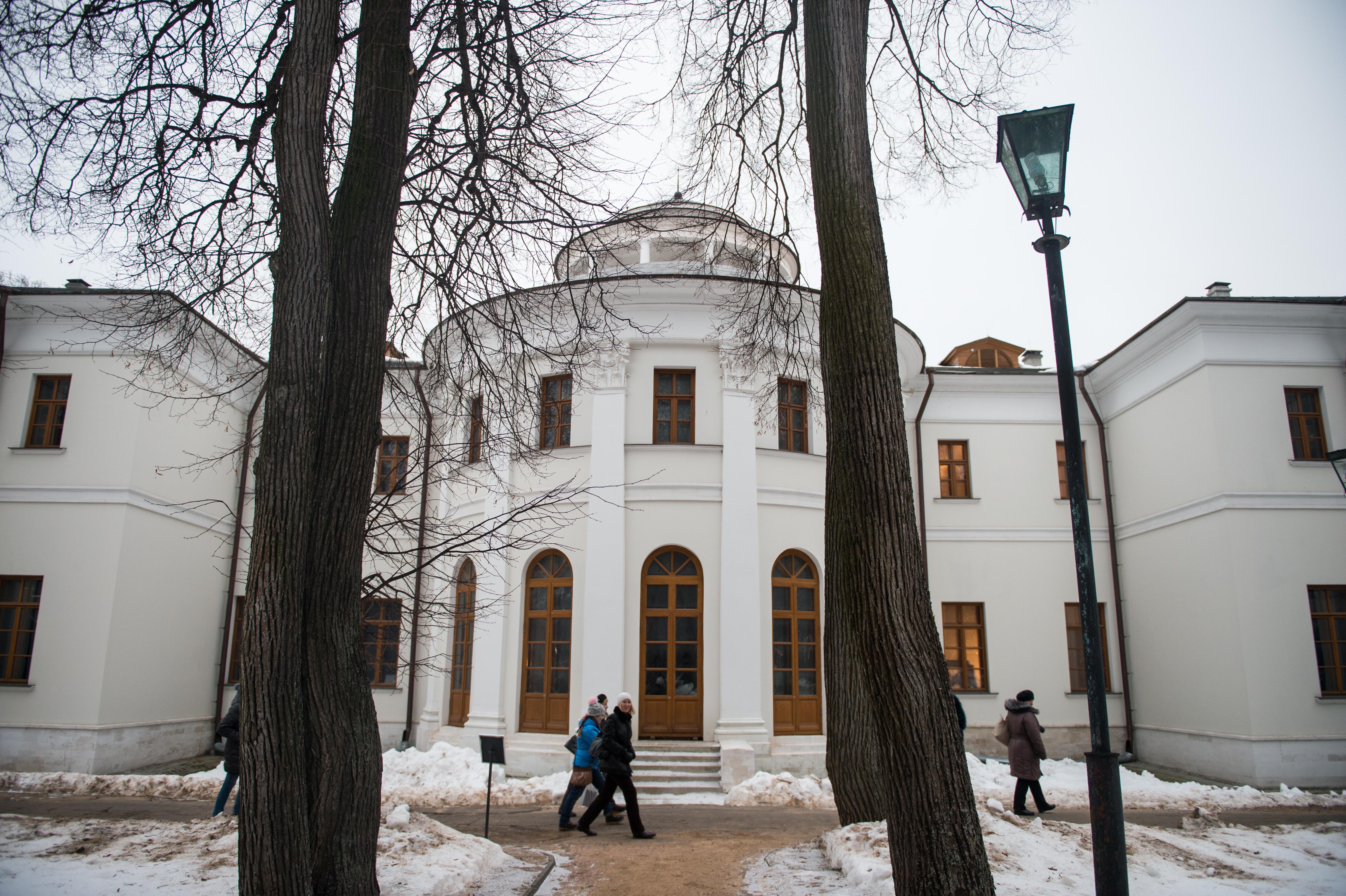 Музей-усадьба Остафьево в селе Остафьево