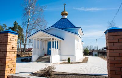 Кривандинский мегалитический комплекс, Церковь Покрова Пресвятой Богородицы в Кривандино