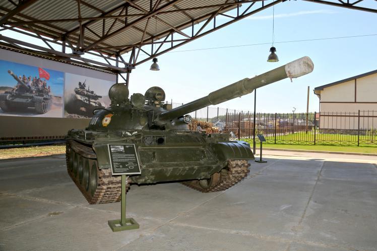 Музей отечественной военной истории на территории КСК«Дивный»