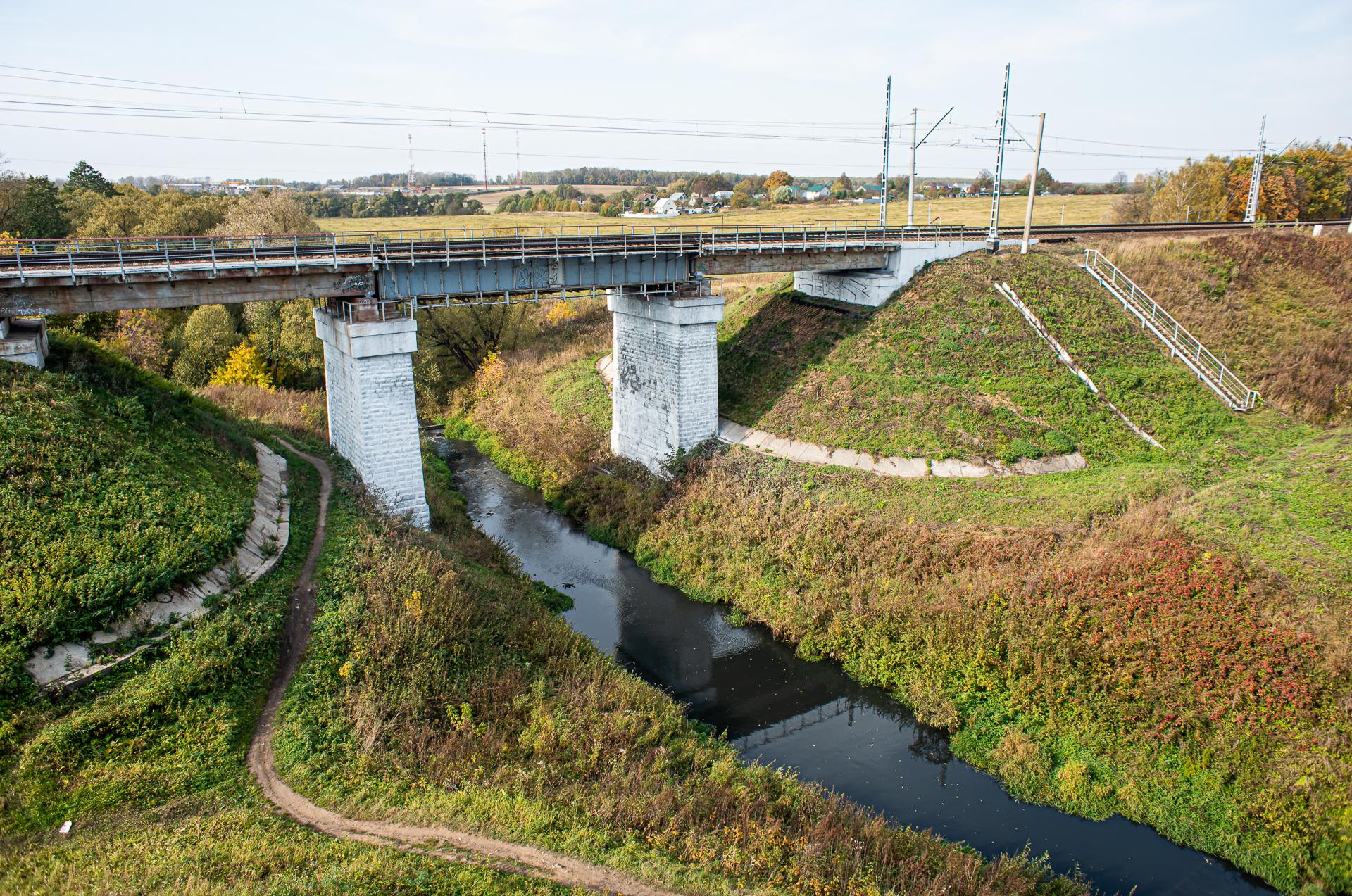 Барыбино, новый железнодорожный мост