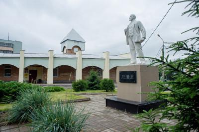 Клин, памятник Ленину