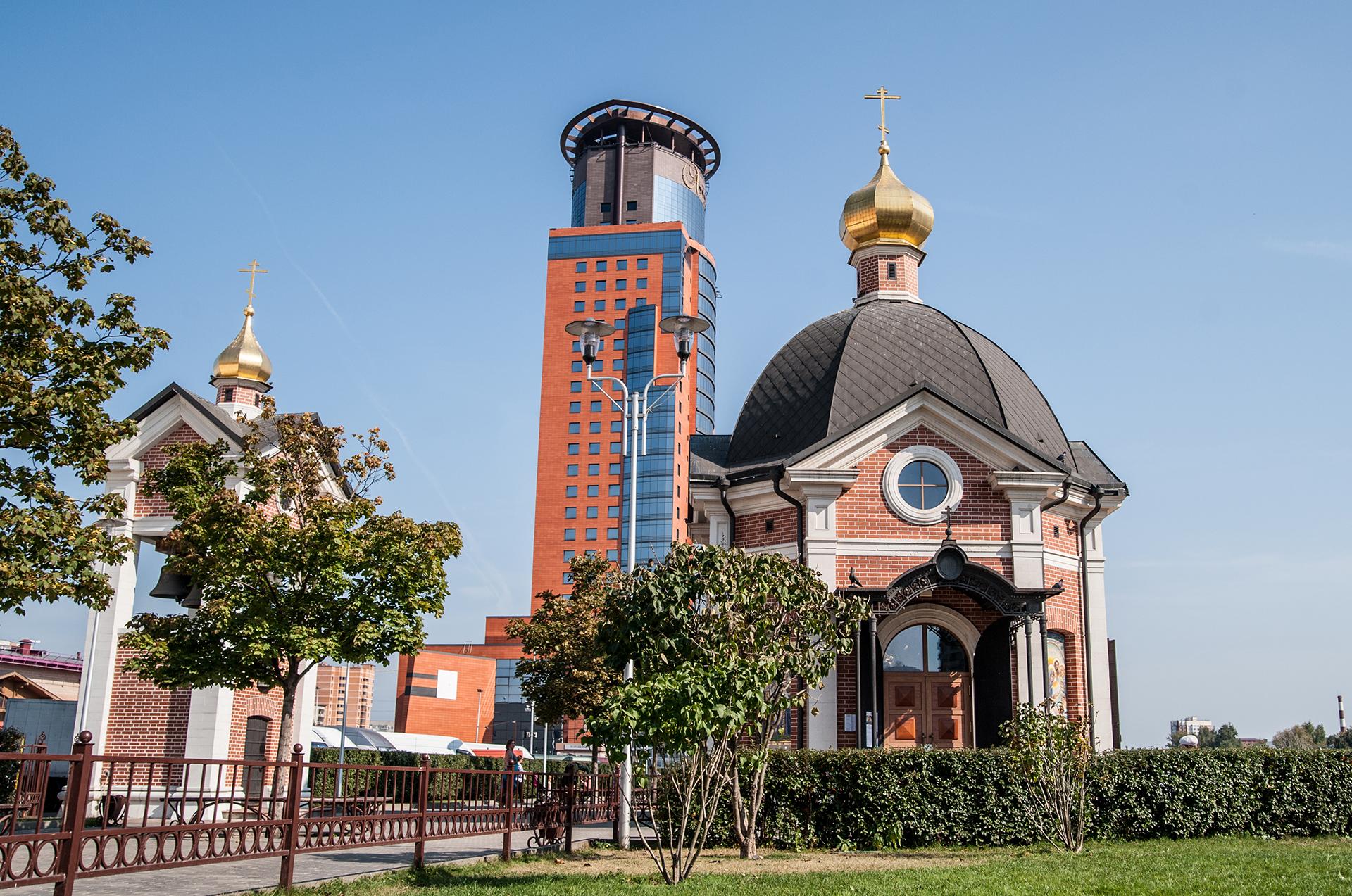 Щелково, церковь часовня Серафима Саровского