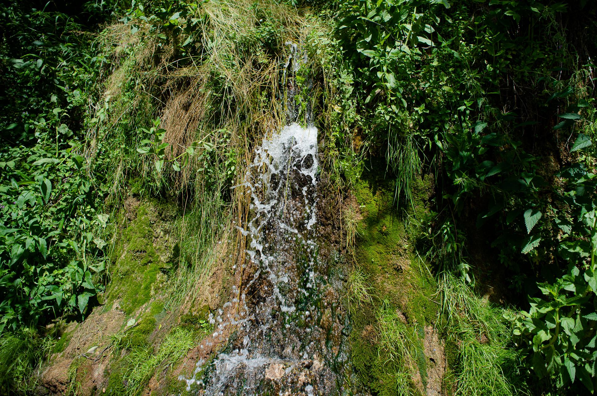 Калужская область, водопад Радужный