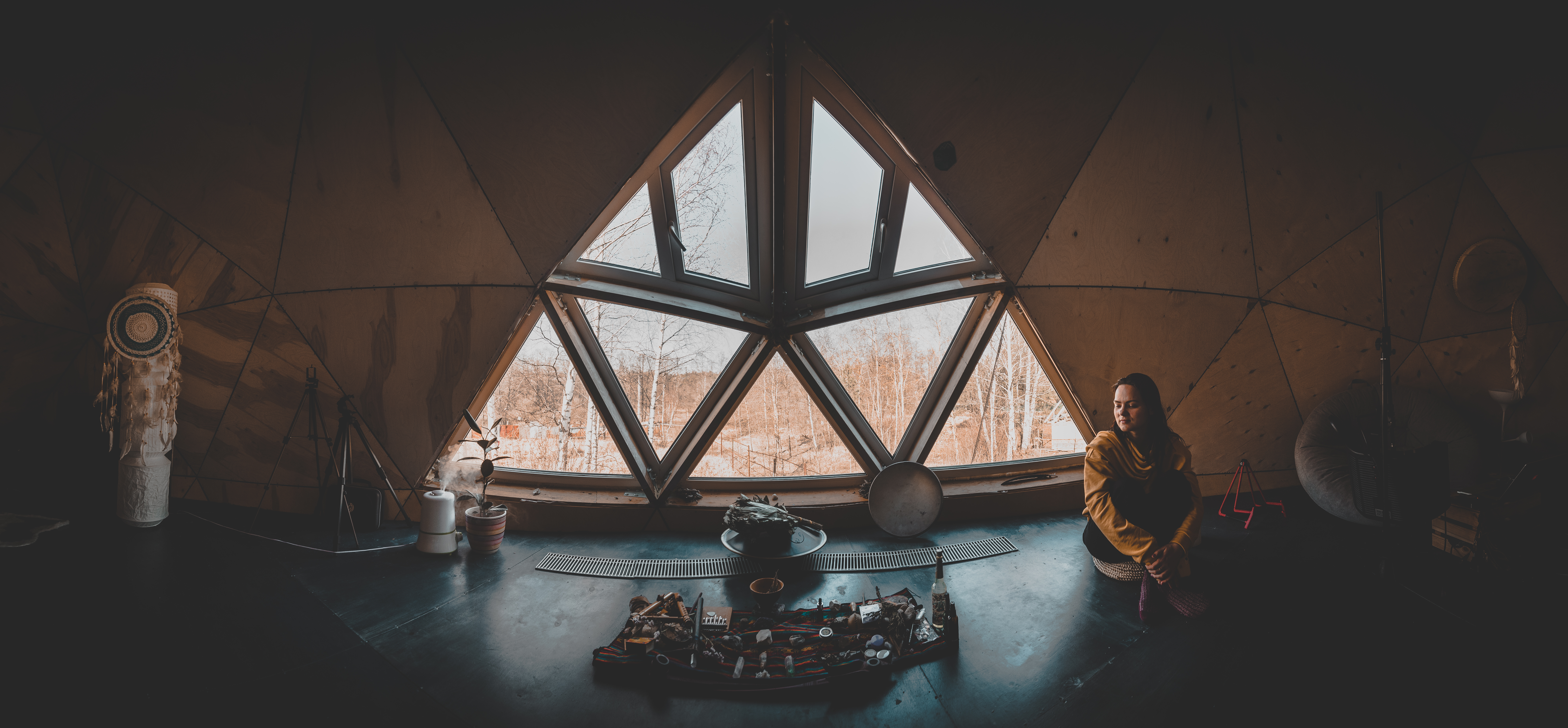 Дом‑шар в Подмосковье