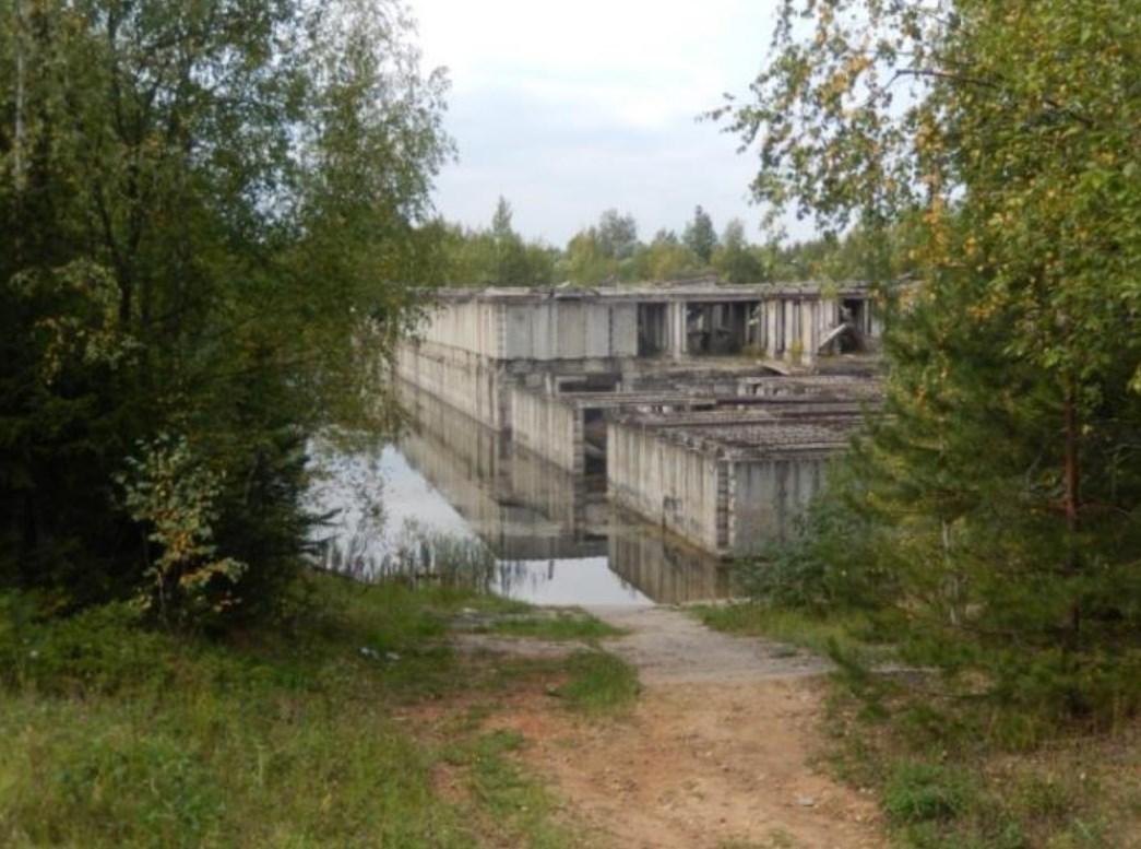 Подводный бункер в Хлюпино