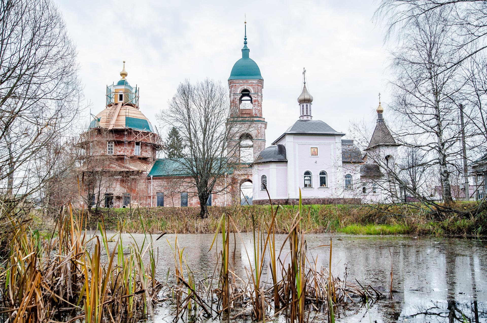 село Якоть. Храм-часовня Новомучеников и исповедников Церкви Русской