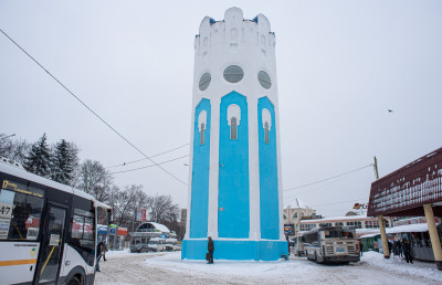 Пушкино, башня
