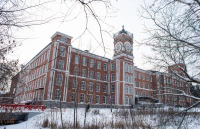 Егорьевск, Хлудовская бумагопрядильная фабрика, часы «Биг-Бен»
