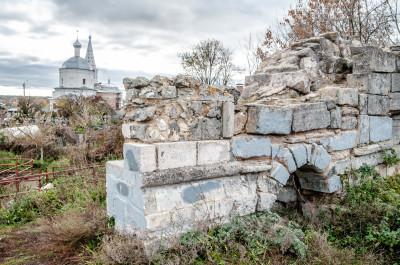 Остатки серпуховского Кремля