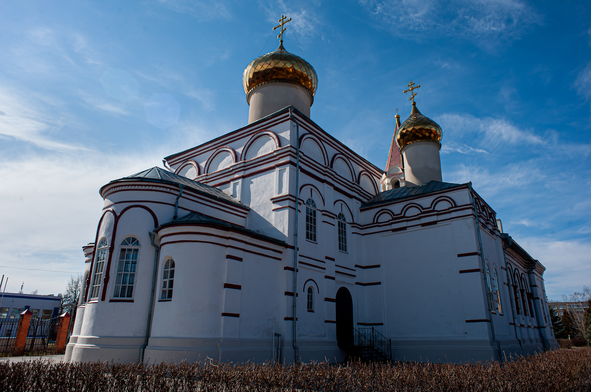 Серебряные пруды, церковь Иконы Божьей Матери Знамение