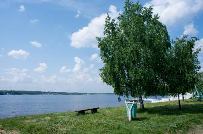 Пироговское водохранилище, Пироговский пляж