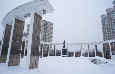 Пушкино, мемориальный комплекс «Скорбящая мать-21»