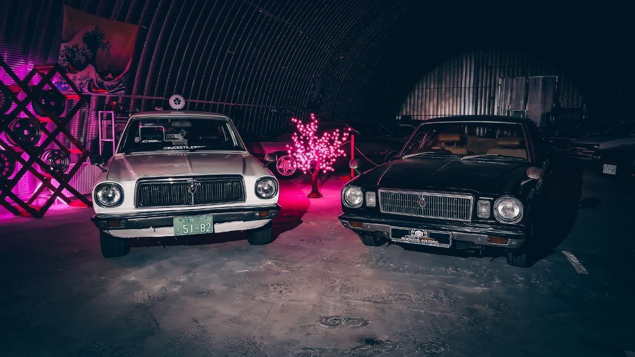 Музей японских ретроавтомобилей Buckets Empire