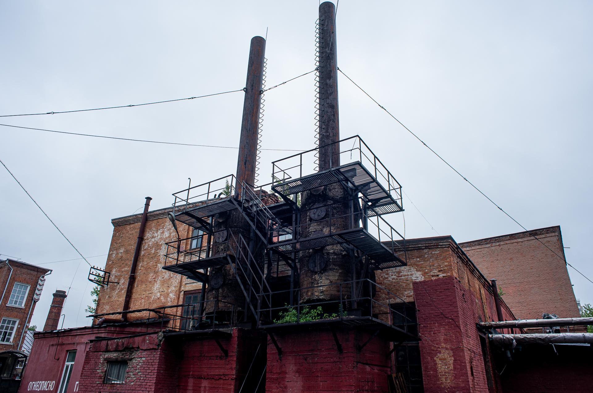 Балашиха, Балашихинская хлопкопрядильная фабрика